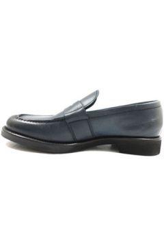 Chaussures J. Holbens mocassins bleu cuir ky396(115401978)