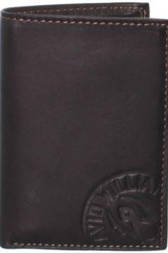 Portefeuille David William Porte-cartes en cuir ref_lhc37145-marron(115555409)