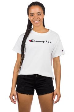 Champion American Logo T-Shirt wit(85188481)