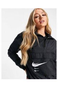 Nike Running - Giacca con logo Nike nera-Nero(123406083)