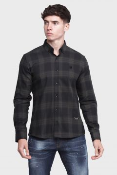 883 Police Bridling Check Mens Shirts(122214516)