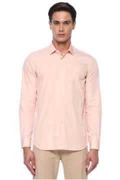 Caruso Erkek Pembe İngiliz Yaka Gömlek 42 IT(118330097)