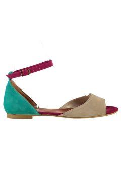 Sandale Fox Shoes Fuschia / Nude / Vert(125460867)