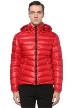 Colmar Erkek Glossy Kırmızı Kapüşonlu Puff Mont 46 IT(123516452)