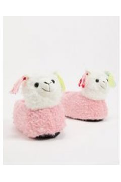 Loungeable - Pantofole 3D a forma di lama rosa con nappe(123209725)