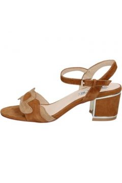 Sandales Emanuélle Vee sandales marron daim beige BY158(115400963)