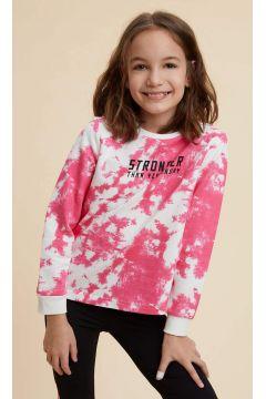 DeFacto Kız Çocuk Baskılı Sweatshirt(119060749)