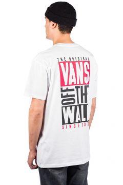 Vans New Stax T-Shirt wit(111096047)