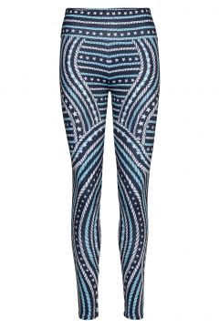 Engineered Printed Legging Running/training Tights Blau TOMMY SPORT(116153823)