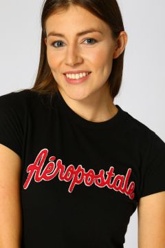 Aeropostale Siyah T-Shirt(123481236)
