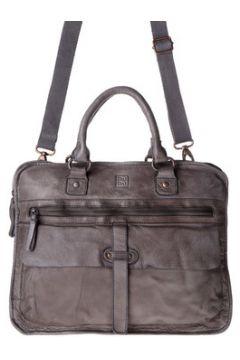 Dudu Serviette porte-documents en cuir Timeless - Briefcase - Gris(115395530)