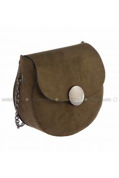 Khaki - Shoulder Bags - WMİLANO(110321590)