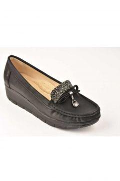 Mehtap Kadın Siyah Ayakkabı 703-20k(123432710)