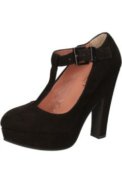 Chaussures escarpins Twin Set TWIN-SET escarpins noir daim AE841(115399576)