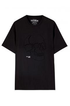 Shirt mit Totenkopfstruktur(105814539)