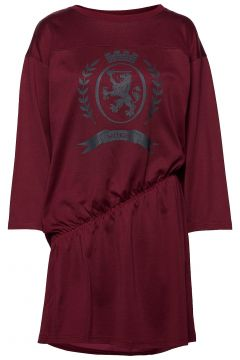 Hcw Crest Rouched Ts Kurzes Kleid Rot HILFIGER COLLECTION(114163950)