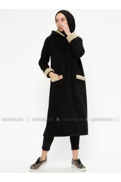 Black - Unlined - Topcoat - Meys(110331902)