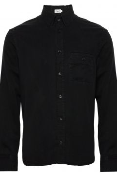 M. Zachary Tencel Shirt Hemd Casual Schwarz FILIPPA K(116547429)