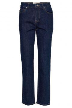 Danielle Jeans Straight Jeans Hose Mit Geradem Bein Blau MORRIS LADY(117080418)