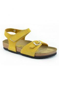 REAL Natura 323-venessa Sarı Nubuk Kız Çocuk Sandalet(116837464)