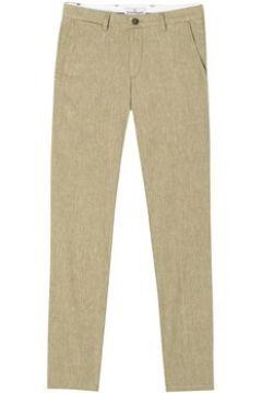 Chinots Europann Pantalon chino slim fit lin chiné GORDON(115401456)