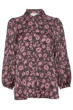 Neomito Shirt Bluse Langärmlig Bunt/gemustert SECOND FEMALE(114801818)