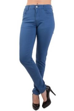 Jeans Primtex Jean coupe slim bleu roi taille haute 36-44(98515021)
