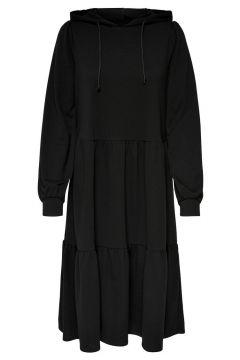ONLY Sweatshirt Kleid Damen Schwarz(117679113)