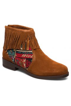 Shoes Ottawa Tap Shoes Boots Ankle Boots Ankle Boots Flat Heel Braun DESIGUAL SHOES(114159170)