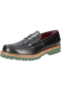 Chaussures Di Mella mocassins noir cuir brillant BZ28(115393907)