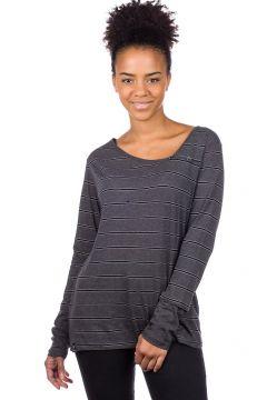 Iriedaily Asym Stripe 3 Long Sleeve T-Shirt grijs(85175753)