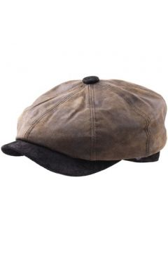 Casquette Dasmarca Béret casquette cuir imperméable Oliver olive(115422608)