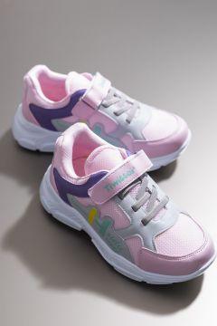 Tonny Black Kız Çocuk Pembe Spor Ayakkabı Tbz13(124978739)
