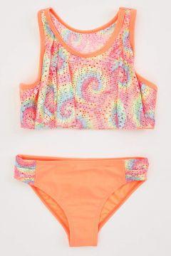 DeFacto Kız Çocuk Baskılı Bikini Takım(119061050)