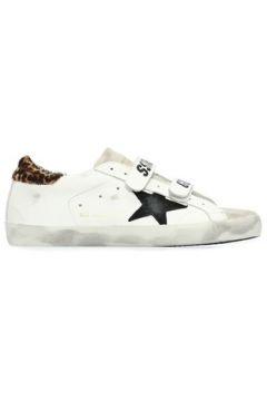 Golden Goose Kadın Old School Beyaz Eskitmeli Deri Sneaker 38 EU(107373568)