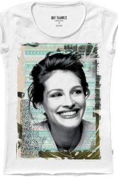 T-shirt Ko Samui Tailors T-SHIRT WOMAN GRAPHIC TV BIANCO C645JULIATB KO SAMU(127968063)