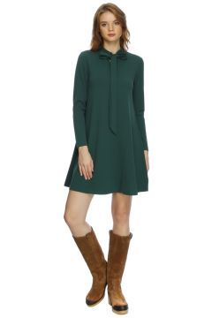 Compania Fantastica Yaka Detaylı Elbise(113955720)