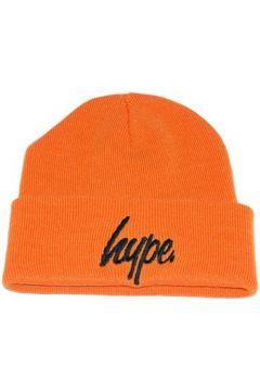 Bonnet Hype Bonnet à Revers Script Orange et Noir(98734058)