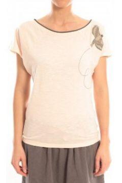T-shirt Blune T-Shirt Libre Comme l\'Air LCL-TF02E13 Rose(115471059)