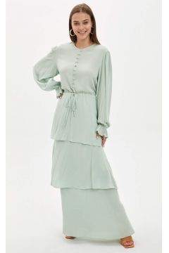 DeFacto Kadın Desenli Dokuma Elbise(119064526)