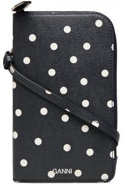 Ph Bag Leather Bags Small Shoulder Bags - Crossbody Bags Blau GANNI(117467352)