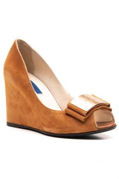 Joop Kadın Günlük Ayakkabı Taba Süet(114224902)