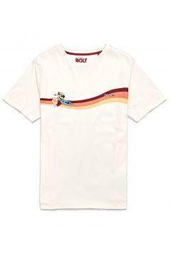 Lightning Bolt Rider Kurzarm-T-Shirt - White(116582345)