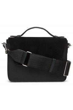 Kamaya Crossbody Bag, Suede Mi Bags Small Shoulder Bags - Crossbody Bags Schwarz MARKBERG(116551456)