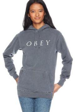 Sweat-shirt Obey NOVEL 2 FELPA GRIGIA(115477580)