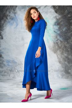 Saxe - Crew neck - Unlined - Dresses - Eda Atalay(110331460)