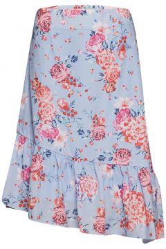 Lucy Skirt Knielanges Kleid Blau BY MALINA(114165361)