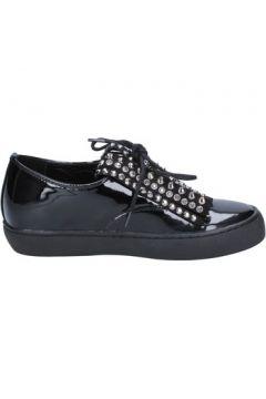 Chaussures Sara Lopez élégantes noir cuir verni BX699(115441440)
