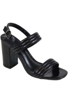 Sandales Kebello Escarpins Mary Jane F Noir(115408727)