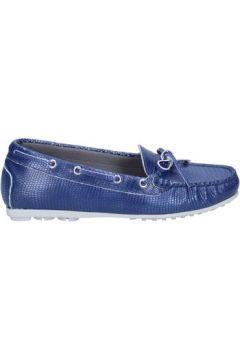 Chaussures K852 Son mocassins bleu cuir BT933(115442972)